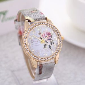 Vintage Paris Eiffel Tower Women Quartz Watch