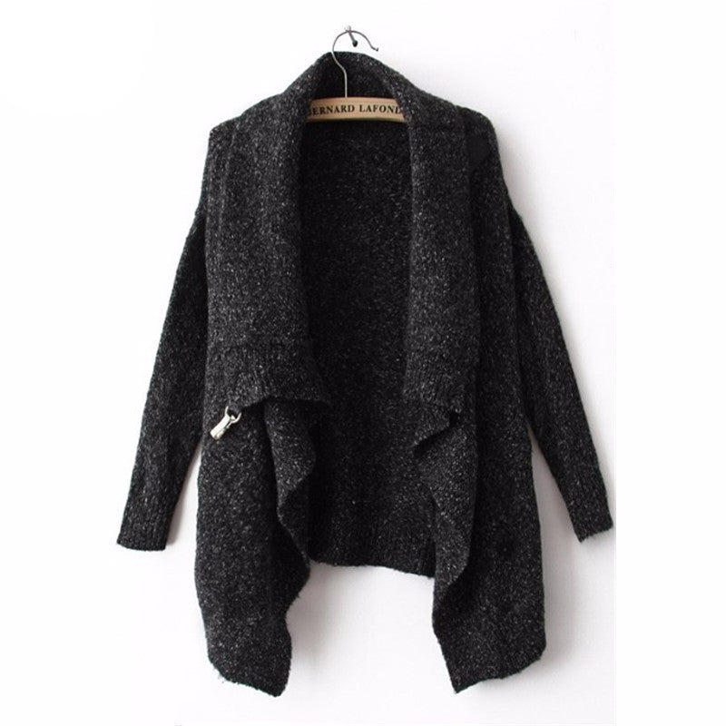 2016 Autumn/Winter Fashion Cool Black Long Sleeve Korean - Gifts Leads
