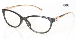 New Design Leopard Head Plain Eye glass Men Women
