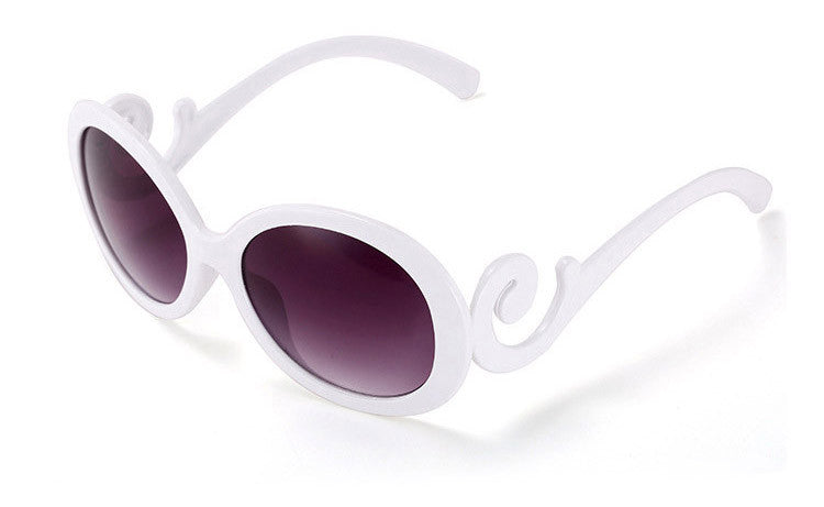NEW Retro inspired Butterfly Clouds Round Sunglasses