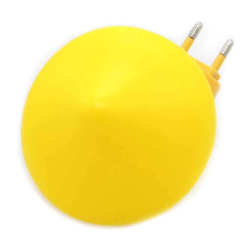 1Pc EU Plug Light Sensor Control Mini Yellow Color Mushroom LED Night Light - Gifts Leads