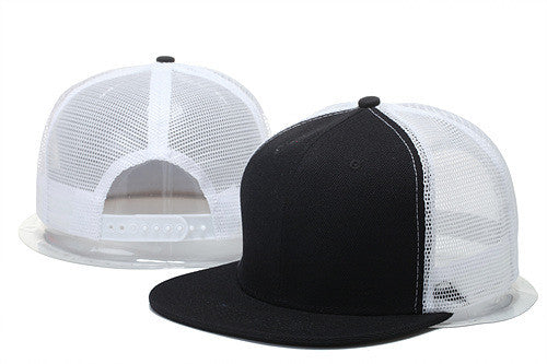 2016 New Blank Mesh Adjustable Baseball Cap Snapback