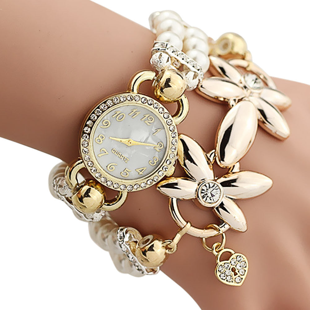 Bracelet Watch Women Ladies Fashion Quartz-watch