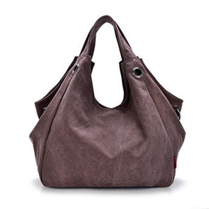 Luxury Handbags New Fashion Canvas Big Women Bags High Quality Hobo Messenger Bags Famous Top-Handle Bags 2016 Brand Ladies Sac