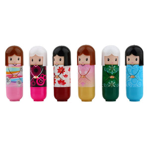 1pc Lovely Kimono doll Brand Makeup Lipstick Women Beauty Professional Cosmetic Lipstick Makeup lipgloss Hot Selling - Gifts Leads
