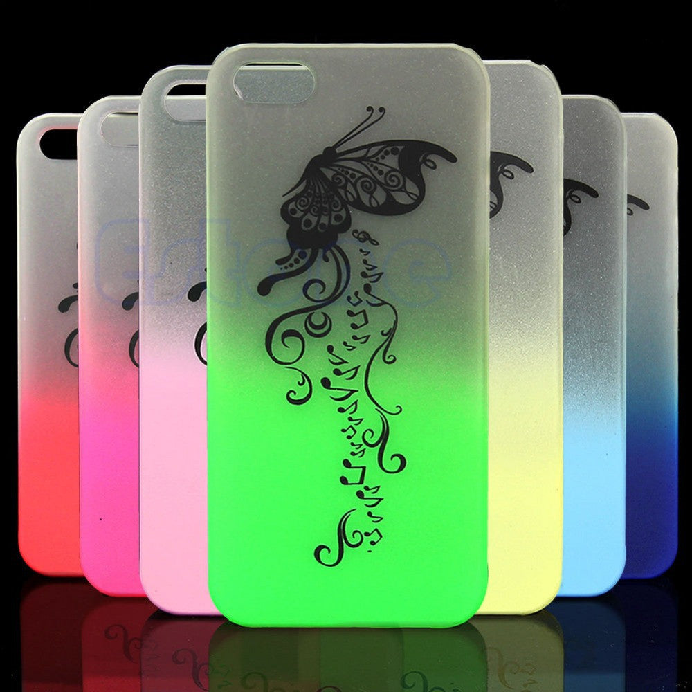 1PC Bumper Frame With Matte Skin Glow In The Dark Case - Gifts Leads