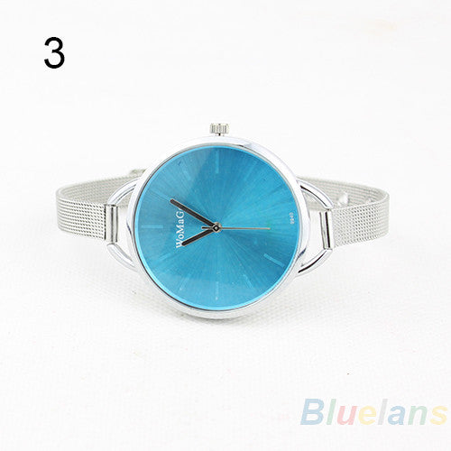 2016 New Stainless Steel Watch Women Hour