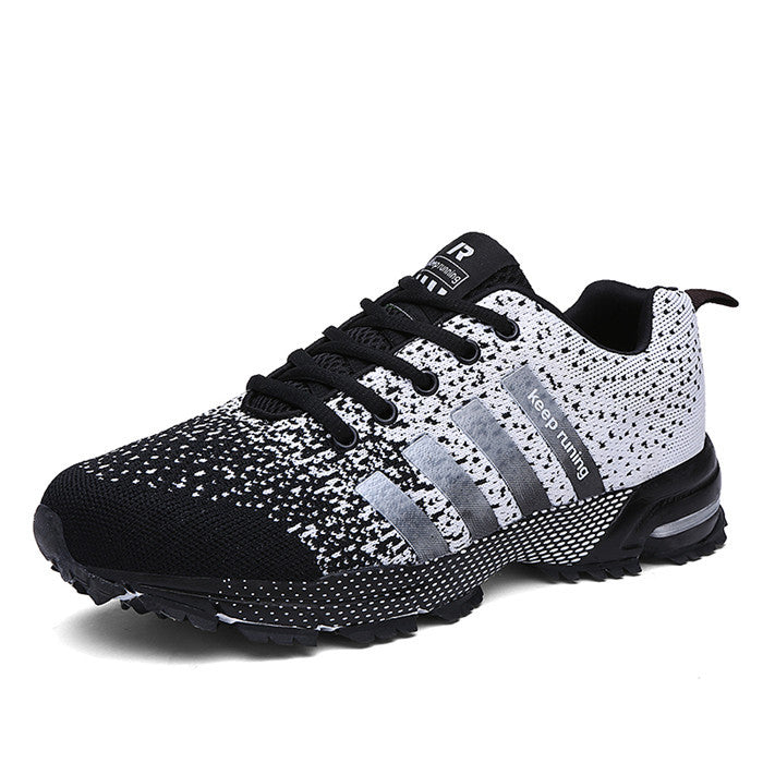 High Quality Women Men Shoes Causal Fly Weave Fashion Flat