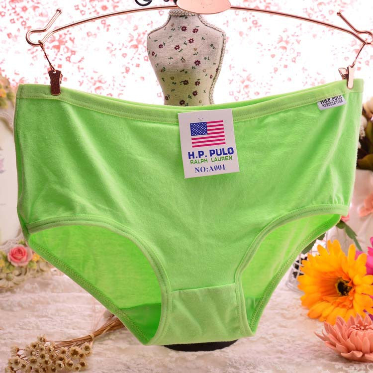 Candy Color Sexy Female Underwear Women Cotton Panties