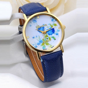 2016 Women Rhinestone Watches Quartz Analog Bracelet