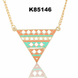 Fashion 1PC Women's Choker Chunky Statement Bib Pendant Chain Necklace Jewelry For Gift