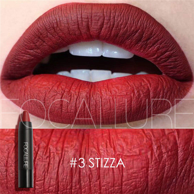 FOCALLURE Matte Lipstick Lips Makeup Cosmetics Waterproof Pintalabios Batom Mate Lip Gloss Rouge a Levre Labial