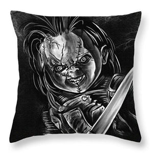 Cushion Cover Bride of Chucky Horror Movie Murderers Pillowcase Polyester&Cotton Home Decorative Throw Pillow Cover