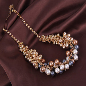 2017 Necklaces pendant necklace women necklace jewelry wholesale plants Korean version Retro Necklace hot new beauty palace