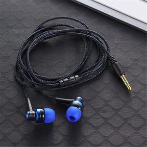 New 3.5mm Stereo In-ear Earbuds  Earphone for Mobile Phone