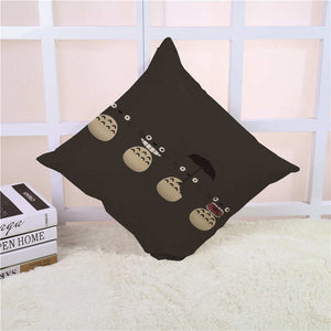Cartoon Style Fashion Decorative Cushion Cover Cute Totoro Printed Throw Pillow Cover Car Home Decorative Cojines 45x45cm