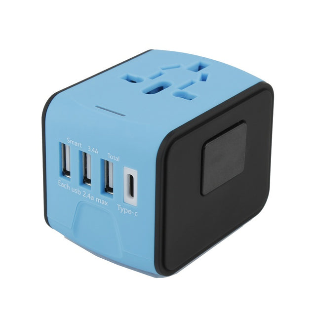Multi USB Adaptor (3USB + Type C)