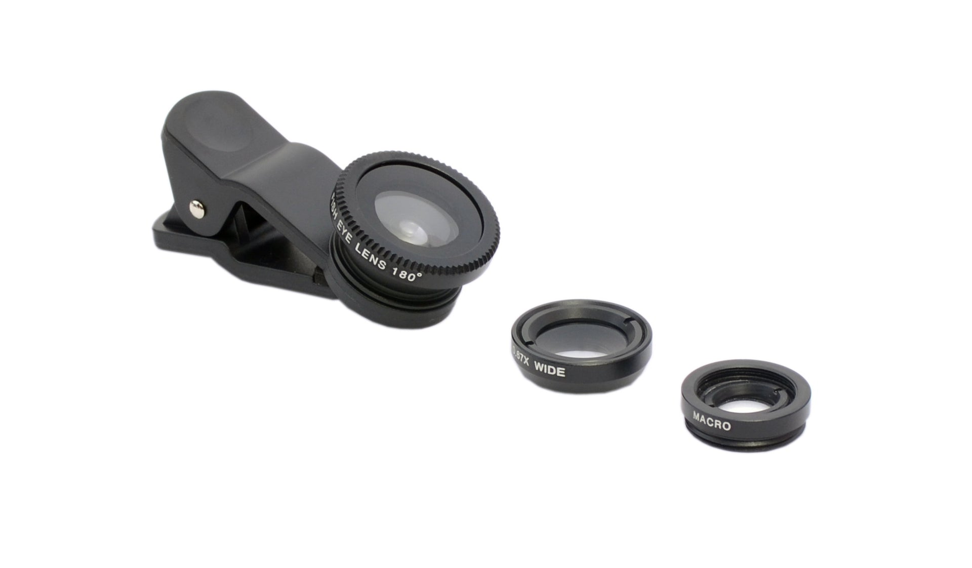 Multiple 3 in 1 Phone Lens