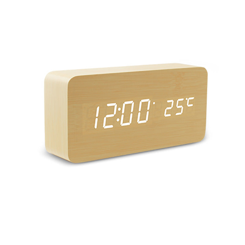 Touch LED Clock