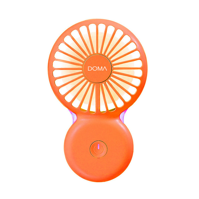 Rechargeable Pocket Slim Fan with Light - New