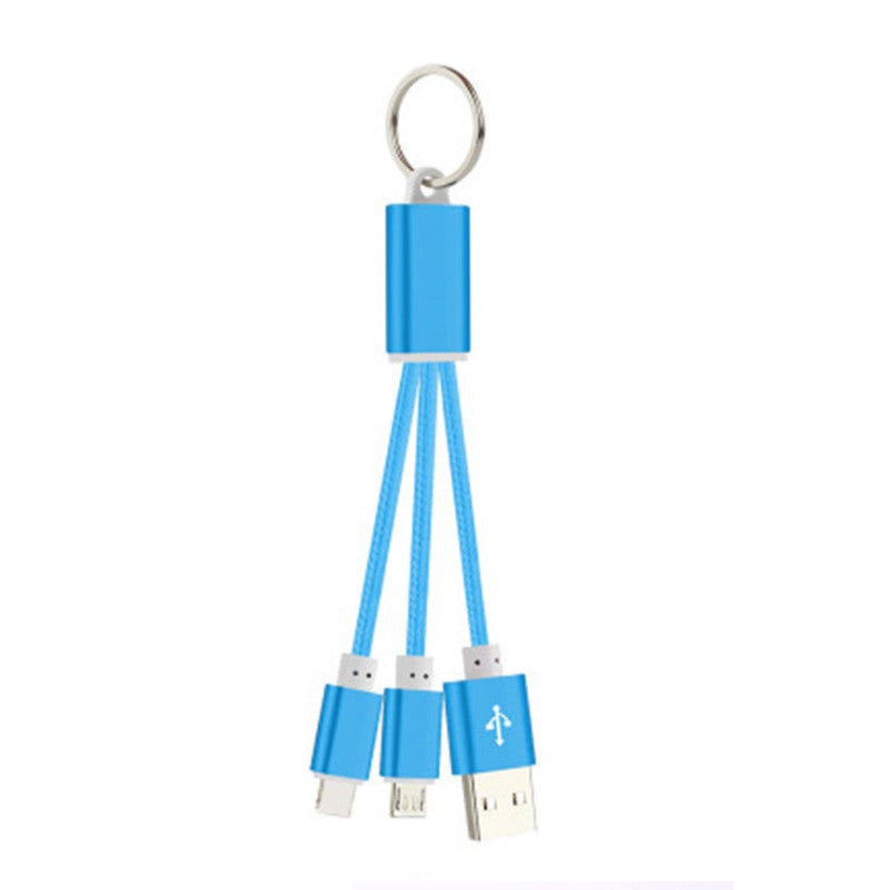Charging Cable 3-in-1 Design
