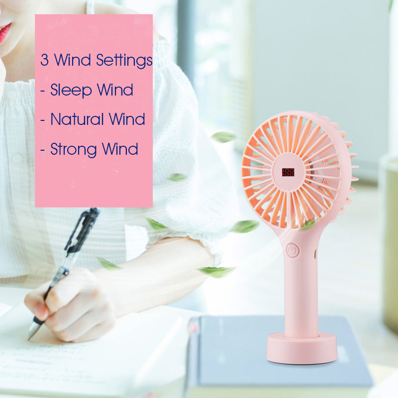 Rechargeable Smart Handy Fan