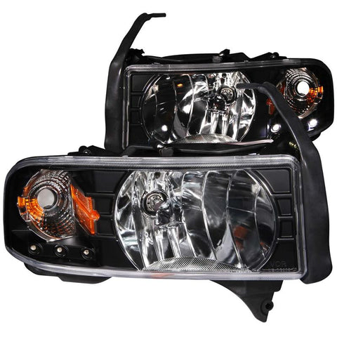 Anzo Crystal Black Headlight Assembly 111205