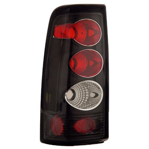 Anzo Chevrolet/GMC Taillights (Black) 211025
