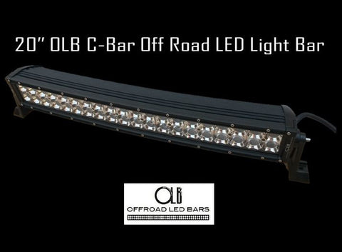 20 inch C-bar LED light bar