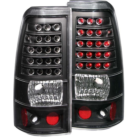 Anzo Black LED Taillights 311012