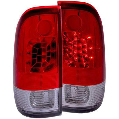 ANZO 311025 RED/CLEAR LED TAIL LIGHTS
