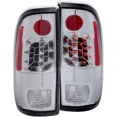 ANZO 311026 CHROME LED TAIL LIGHTS