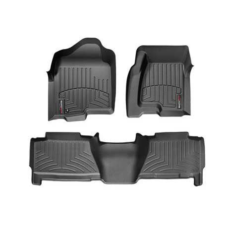 WeatherTech 4X0031-4X0612 DigitalFit FloorLiner Set