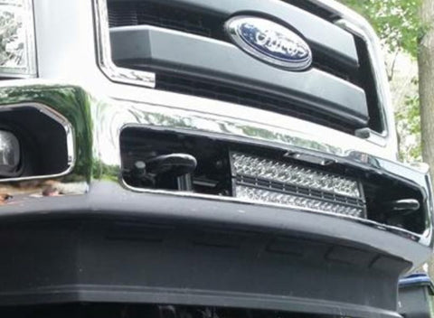 20 inch LED Light Bar Bumper Kit For Ford Super Duty 2011-2014