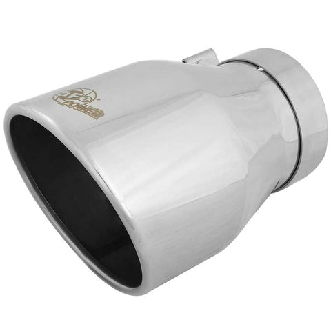AFE 49T40604-P09 POLISHED EXHAUST TIP