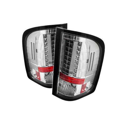 Spyder 5001788 Chrome LED Tail Lights