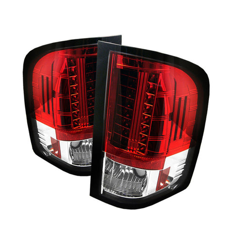 Spyder 5001795 Red/Clear LED Tail Lights