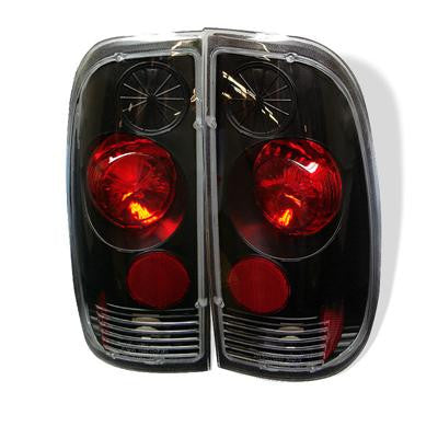SPYDER 5003348 BLACK EURO STYLE TAIL LIGHTS