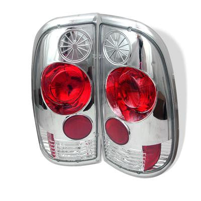 SPYDER 5003355 CHROME EURO STYLE TAIL LIGHTS