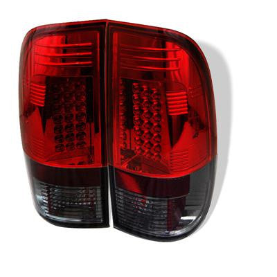 SPYDER 5003492 RED/SMOKE LED TAIL LIGHTS