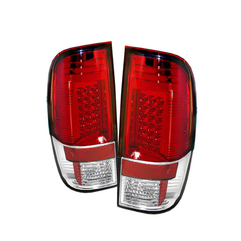 Spyder 5003911 Red/Clear LED Tail Lights