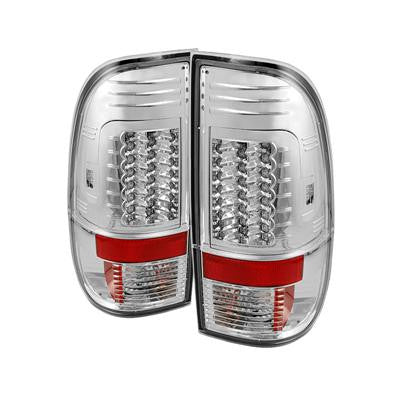SPYDER 5029126 CHROME LED TAIL LIGHTS