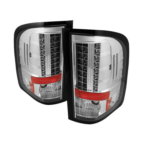 Spyder 5029546 Chrome LED Tail Lights