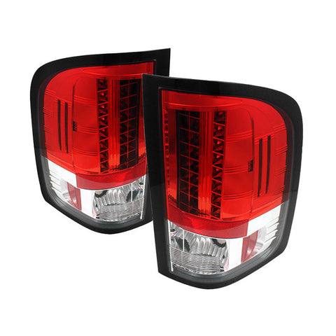 Spyder 5029553 Red/Clear LED Tail Lights