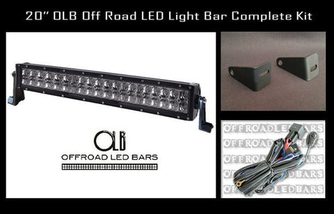 20 inch Offroad LED Light Bar Bumper Kit for 2007.5-2013 Chevrolet Silverado