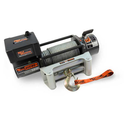 Mile Marker 76-50246BW SEC9.5 (ES) Waterproof Winch