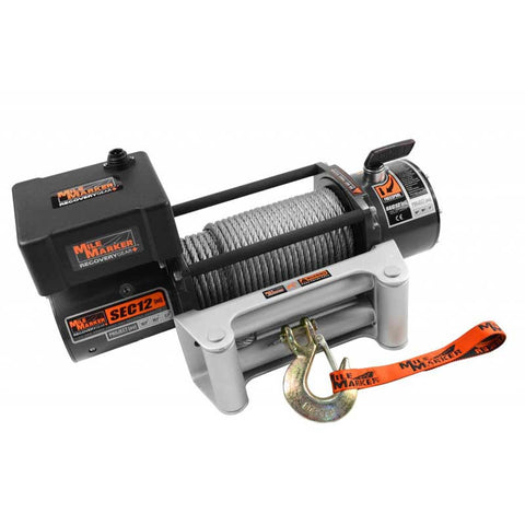 Mile Marker 76-50251BW SEC12 (ES) Waterproof Winch
