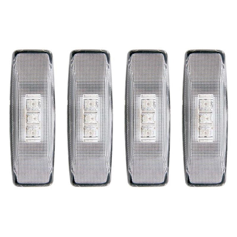 Anzo 861090 Clear LED Dually Fender Lights