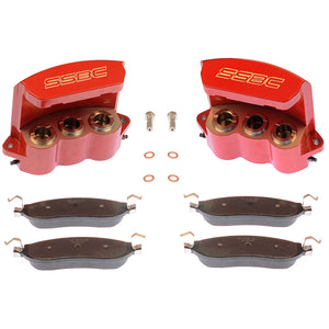 SSBC A193-7 TRI-POWER QUICK-CHANGE REAR BRAKE CALIPER UPGRADE KIT
