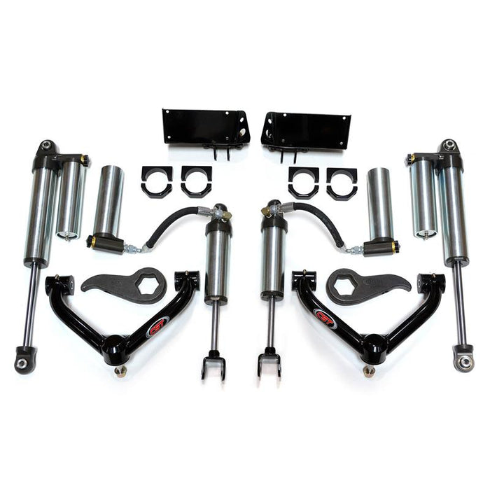 "CST MID-TRAVEL LEVELING KIT WITH 2.5"" ADJUST. RES. SHOCKS CSK-C27-1"